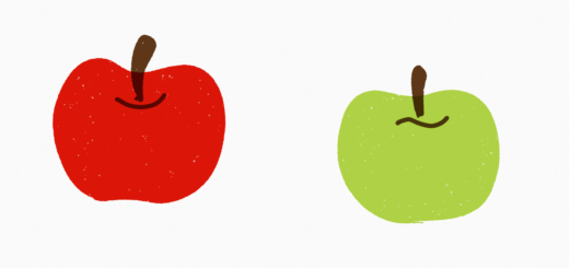 red-apple-green-apple