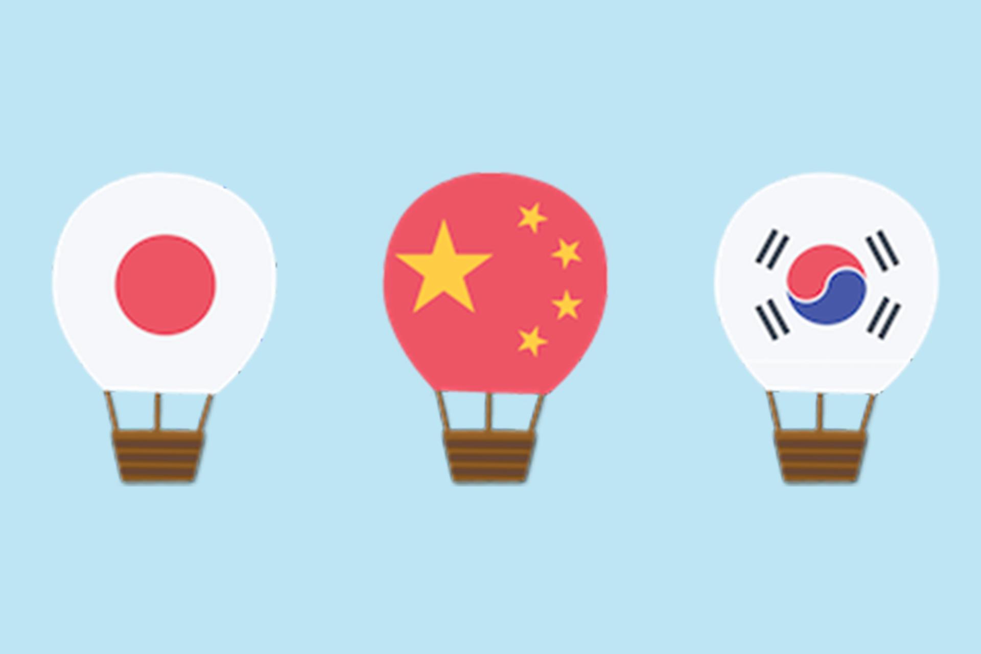 Similar Words Japanese Chinese Korean