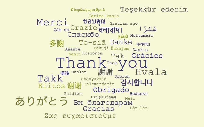 ありがとう」は外国語でなんて言う?ー50ヶ国語リスト一覧 - LingoCards