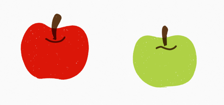 red-apple-green-apple