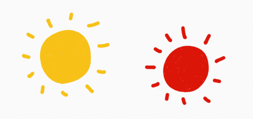 yellow-sun-red-sun